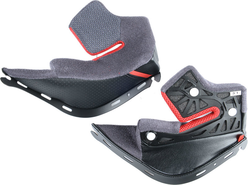 WANGENPOLSTER-SET SHOEI