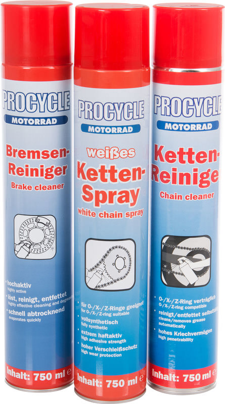 PROCYCLE 3ER-PFLEGE-SET
