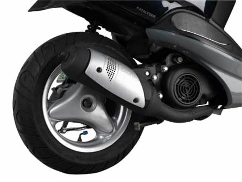 SCOOTER EXHAUST *TOURING*