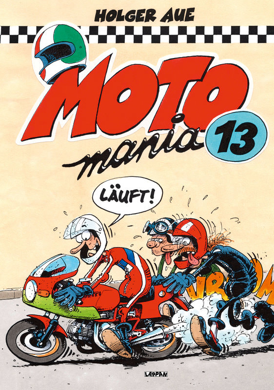MOTOMANIA COMIC BAND 13