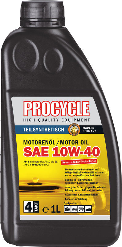 PROCYCLE MOTOROEL 10W-40