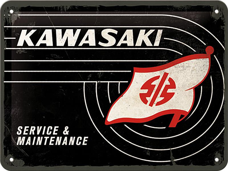 BLECHSCHILD KAWASAKI