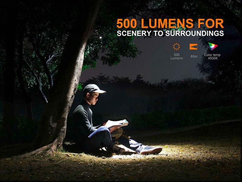 FENIX LED-LAMPE LD15R