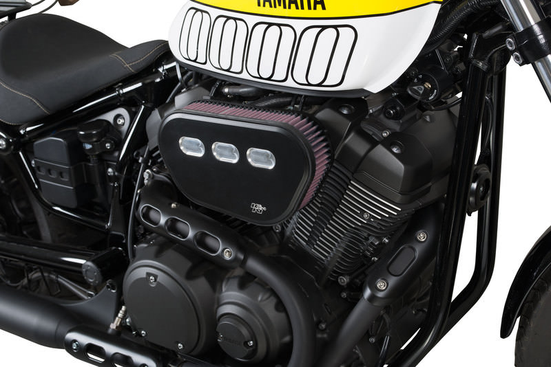 K&N HIGH-FLOW AIR INTAKE