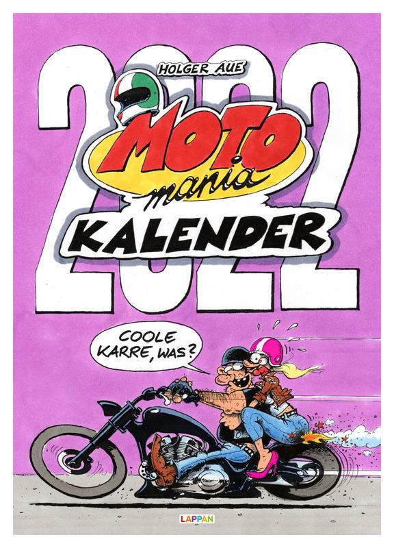 MOTOMANIA KALENDER 2022