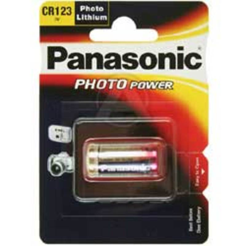 BATTERIE CR123A PANASONIC