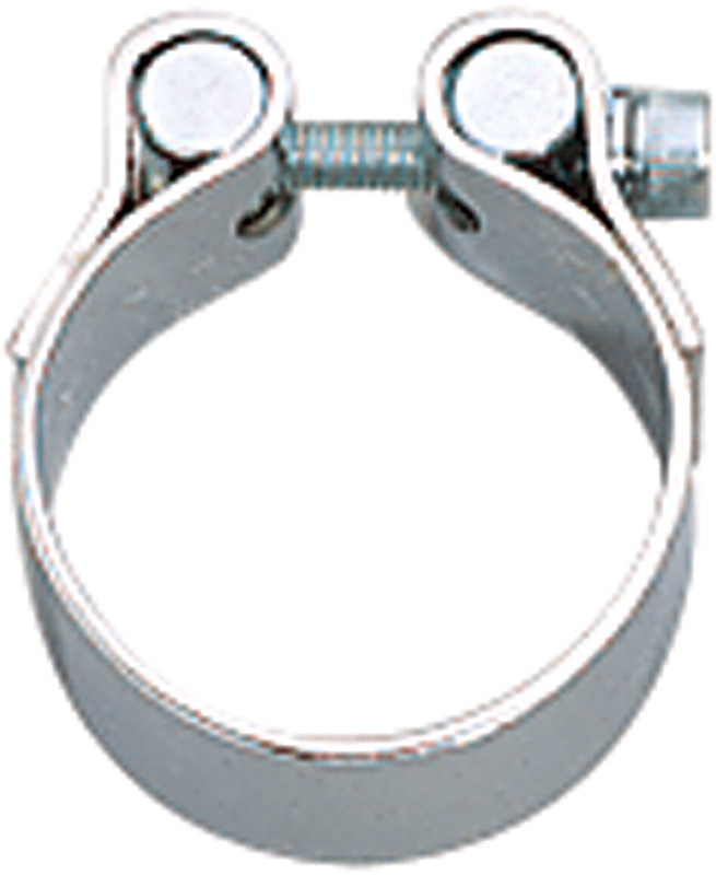 CHROME EXHAUST CLAMP