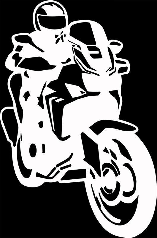 AUFKLEBER MOTORRAD TOURER