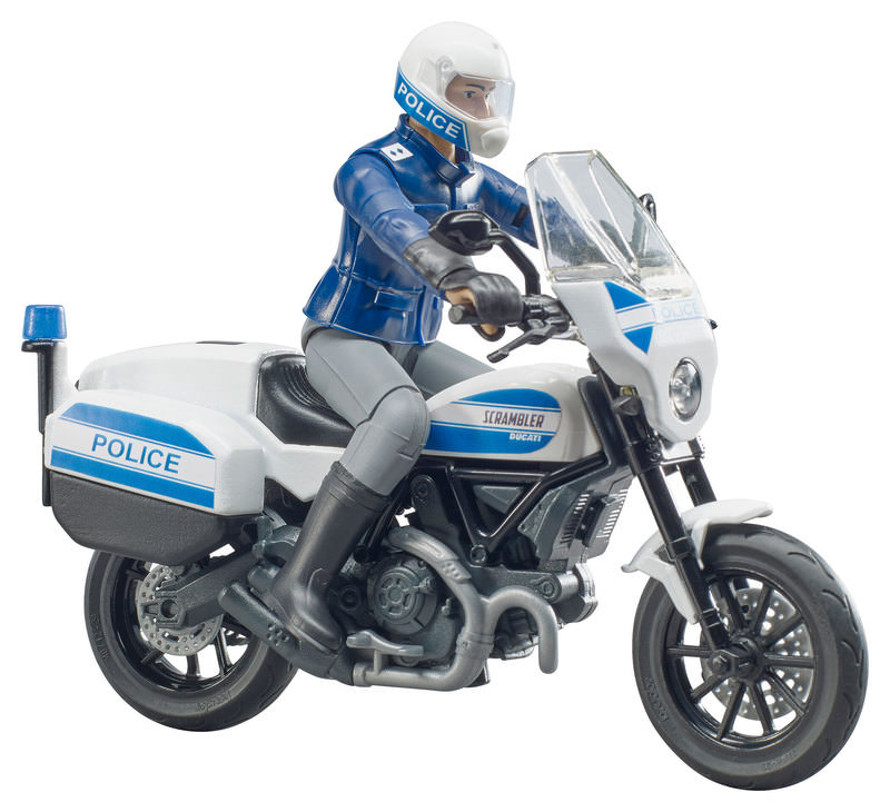 DUCATI POLICE MOTORCYCLE