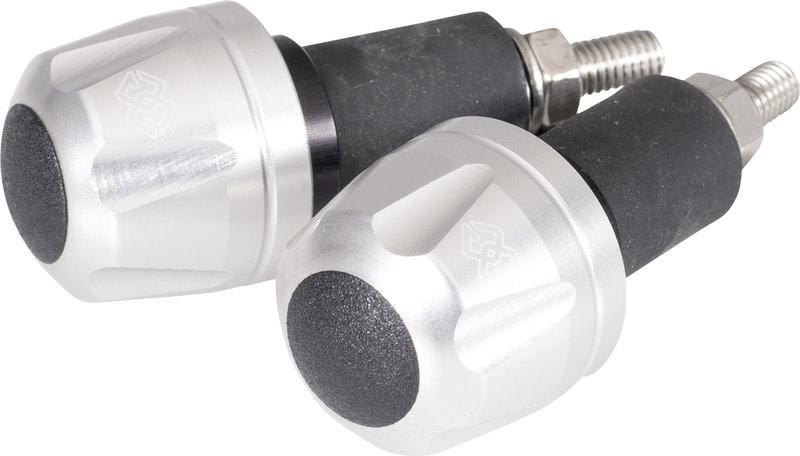 Gilles IP Lenkergewichte für 22 mm Lenker in Schwarz für Motorräder