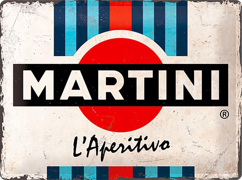 METAL SIGN MARTINI