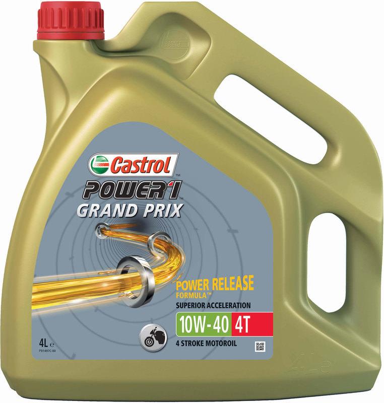 CASTROL GRAND-PRIX OIL 4L