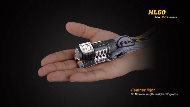 FENIX LED-STIRNLAMPE HL50
