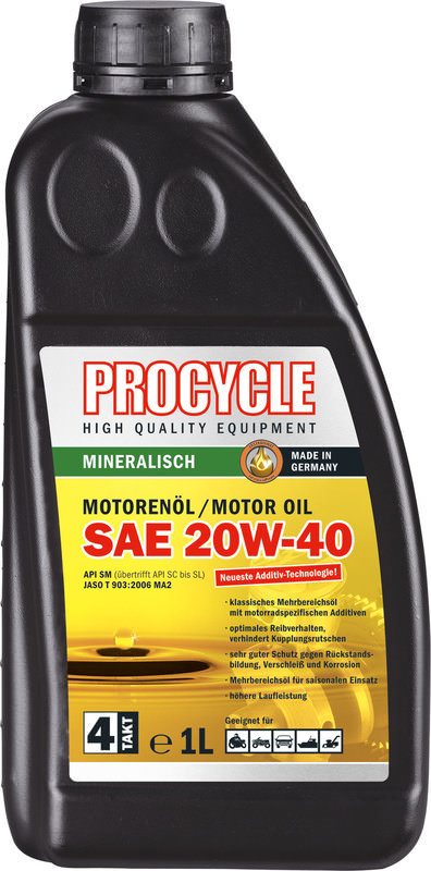 MOTORENOEL PROCYCLE 4T 1L