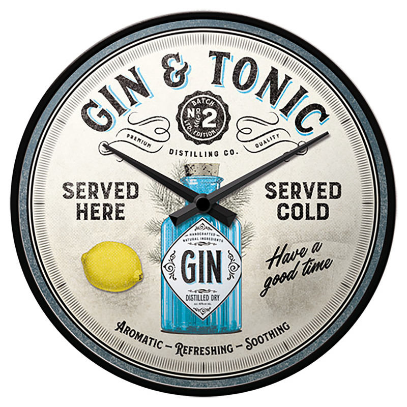 WANDKLOK GIN & TONIC